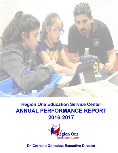 Annual Performance Report cover