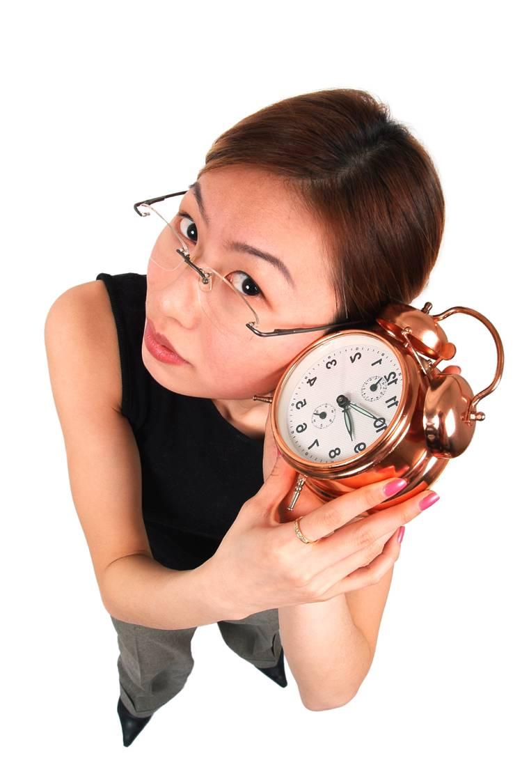 chic with clock