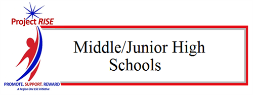 Project RISE Middle/Junior High Schools