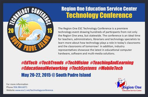 Region One ESC 2015 Technology Conference