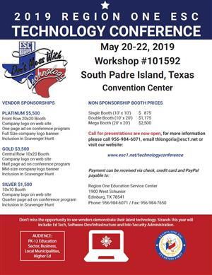 2019 Region One ESC Technology Conference