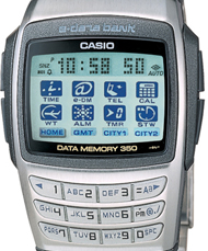 Data Bank Watch by Casio