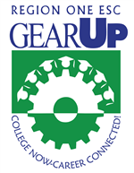 GEAR UP: College Now-Career Connected! Logo