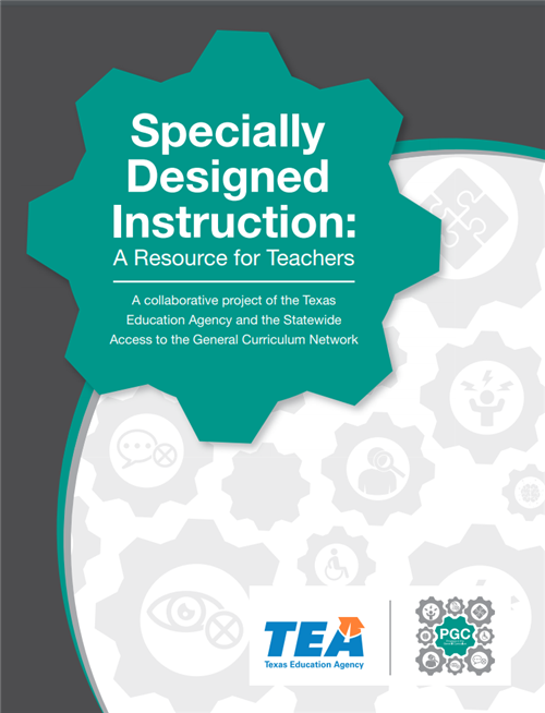 Specially Designed Instruction Booklet Cover Graphic Contact Diana Saenz at dsaenz@esc1.net to learn more.