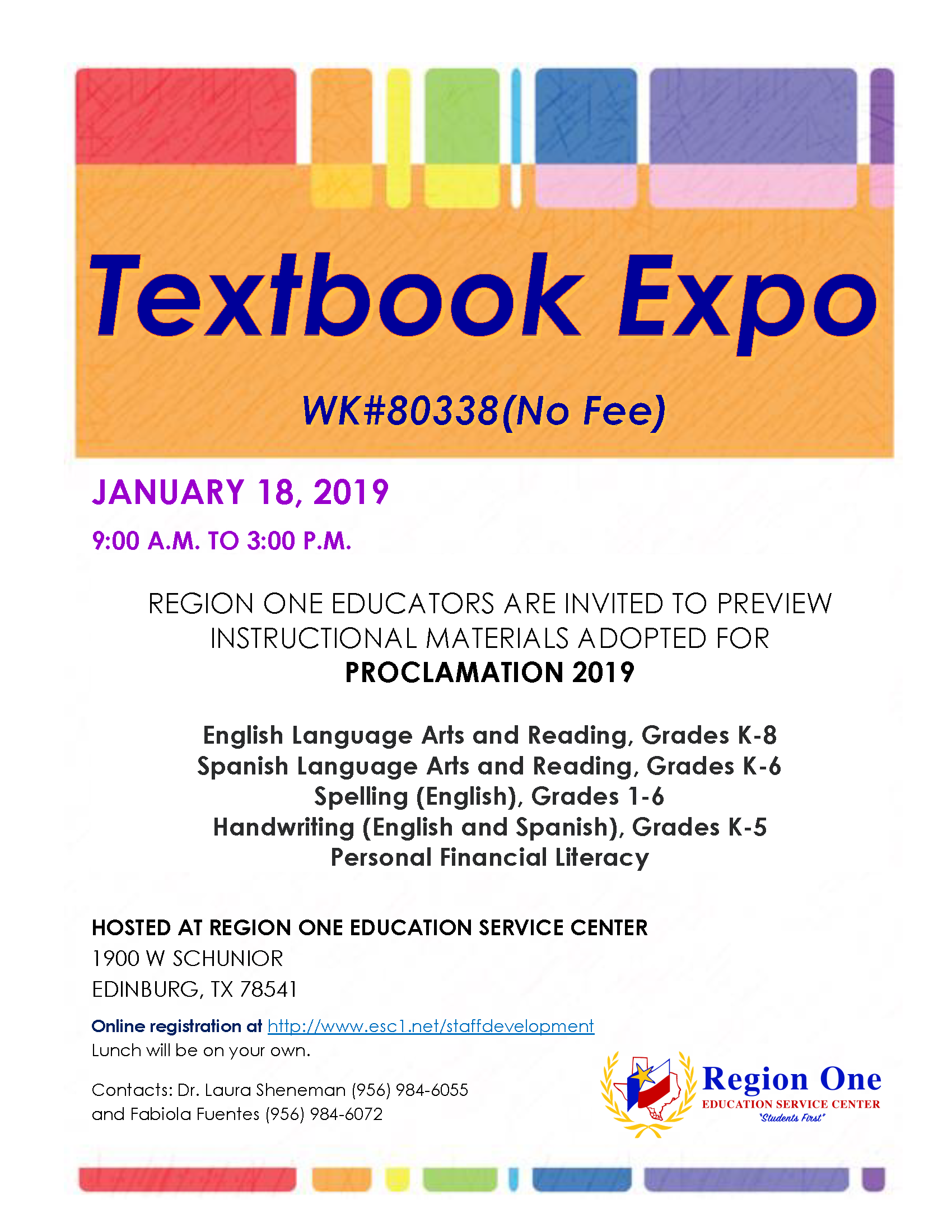Library Services And Instructional Resources Textbook Expo 2019