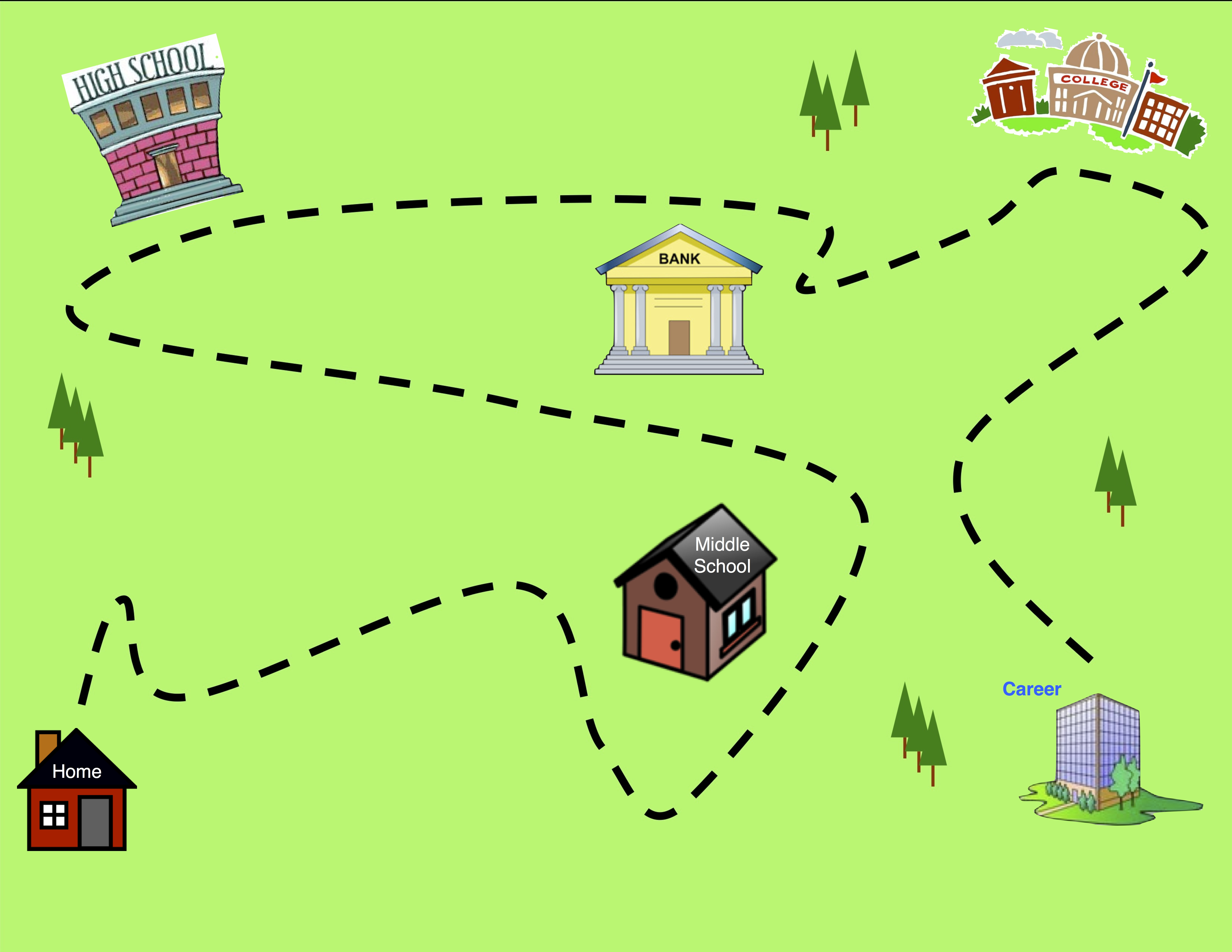 Cartoon road map pictures to pin on pinterest pinsdaddy for Detailed home search