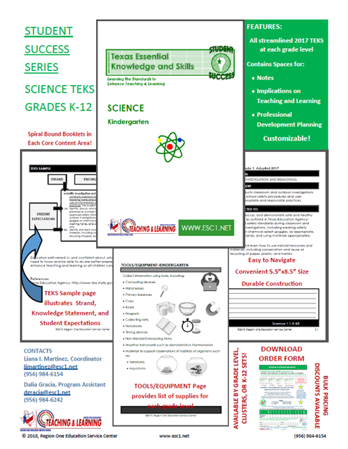 Student Success Series Promo Flyer-Science
