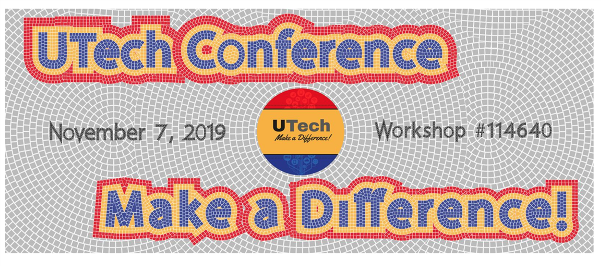 UTech Conference 2019 Banner