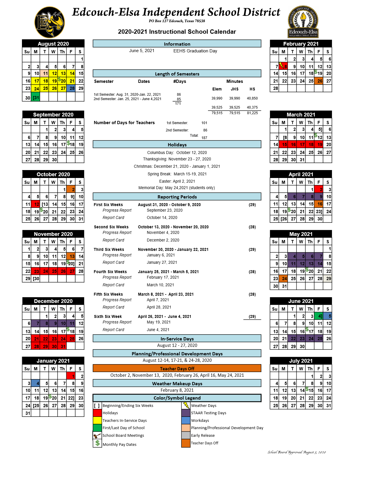Cisd Calendar 2021 District Calendars / Overview