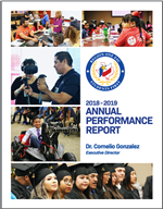 clickable thumbnail image of annual performance report document
