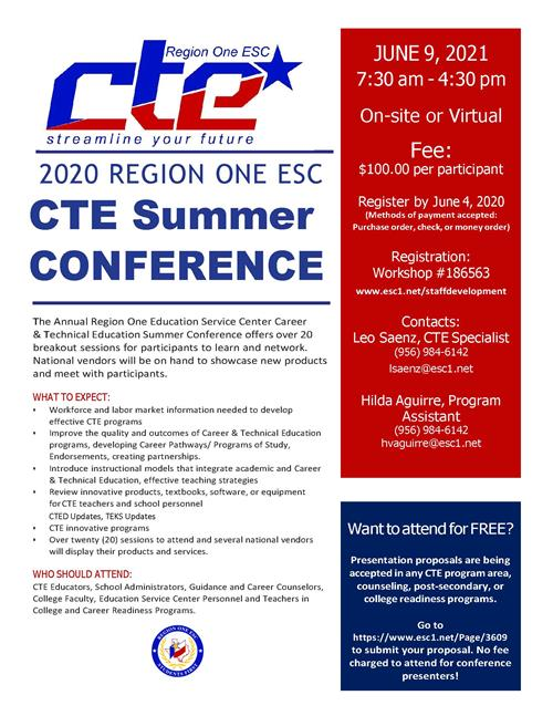 conference info flyer